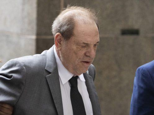 Harvey Weinstein arrives at court (Mark Lennihan/AP)
