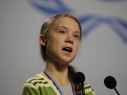 Greta Thunberg (AP Photo/Paul White)