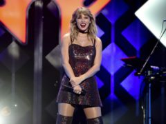 Taylor Swift spent her first day of being 30 with a performance in New York (Evan Agostini/Invision/AP)