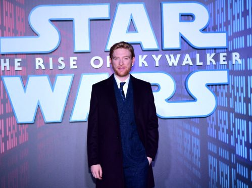 Domhnall Gleeson reprises the role of General Hux in Star Wars: The Rise Of Skywalker (Ian West/PA)