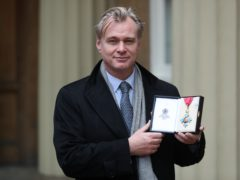 Director Christopher Nolan after he was made a Commander of the British Empire (Andrew Matthews/PA)