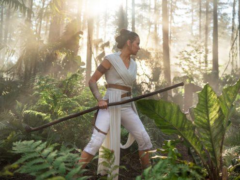 Rey (Daisy Ridley) in STAR WARS: THE RISE OF SKYWALKER (LucasFilm/Disney)