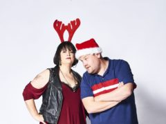 Gavin & Stacey Christmas Special stars Ruth Jones and James Corden in character (Tom Jackson/TV Productions Ltd/BBC)