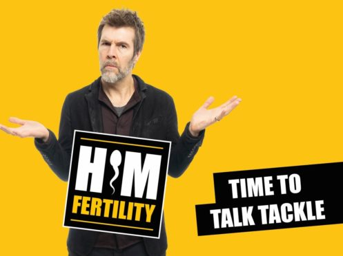 Comedian Rhod Gilbert is to front a national campaign aimed at raising awareness of male infertility (campaign handout/PA)