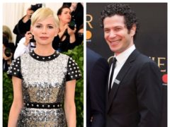 Michelle Williams and Thomas Kail (Ian West/PA)