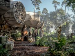 Chewbacca (Joonas Suotamo), Poe (Oscar Isaac), Finn (John Boyega), Rey (Daisy Ridley) and C-3PO (Anthony Daniels) in STAR WARS: THE RISE OF SKYWALKER (LucasFilm/Disney)