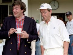 Hugh Laurie and Stephen Fry (Peter Jordan/PA)