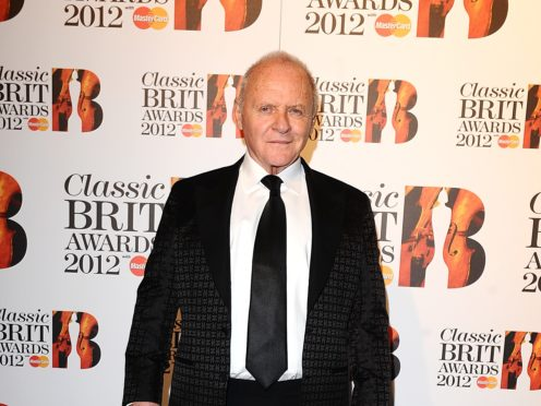 Sir Anthony Hopkins is among the British Oscar nominees (Ian West/PA)