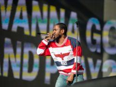 Kendrick Lamar is headlining British Summer Time (Alan D West/PA)