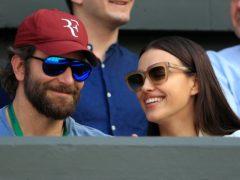 Bradley Cooper and Irina Shayk (John Walton/PA)