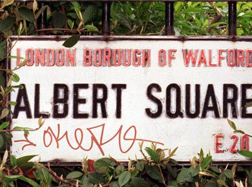 Albert Square (Andrew Stuart/PA)