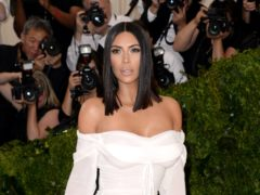 Kim Kardashian West has responded to reports of her seemingly near-empty refrigerator with a guided tour of her vast kitchen (Aurore Marechal/PA)