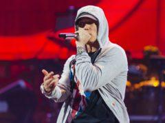 Eminem breaks new chart record with new album (Jeremy Deputat/PA)