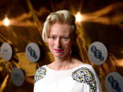 Tilda Swinton 'touched' by BFI Fellowship honour (Ian West/PA)
