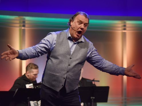Welsh opera singer Sir Bryn Terfel has been forced to cancel several US appearances after breaking his ankle in a fall (Jeff Overs/PA)