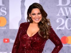 Kelly Brook said she likes to run and exercise (Ian West/PA)