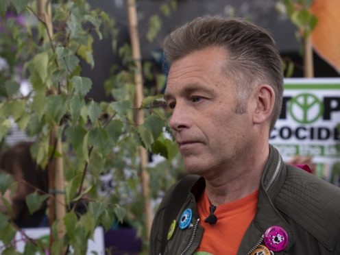 Chris Packham's new programme 7.7 Billion People And Counting airs next week (Giles Anderson/PA)