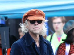 The Boomtown Rats' new single is called Trash Glam Baby (Yui Mok/PA)