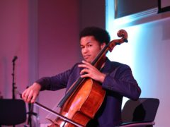 Royal wedding cellist Sheku Kanneh-Mason has broken a new chart record (Yui Mok/PA)