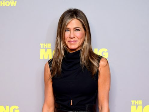 Jennifer Aniston delighted fans with another Friends reunion picture (Ian West/PA)
