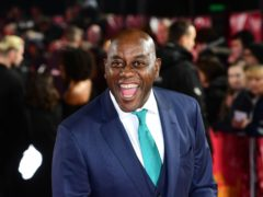 Ainsley Harriott mistook his MBE for a parking ticket (Ian West/PA)