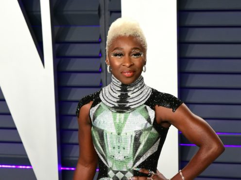 British actress Cynthia Erivo is the only non-white nominee in the acting categories at this year's Oscars (Ian West/PA)