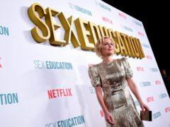 Gillian Anderson at the Sex Education season two premiere (Ian West/PA)
