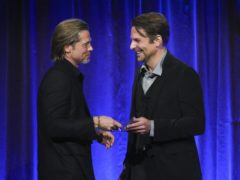 Brad Pitt has credited Bradley Cooper with helping him get sober (Evan Agostini/AP)