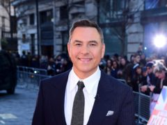 David Walliams is hosting the event for the first time (Ian West/PA)
