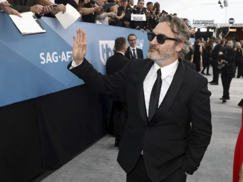 Joaquin Phoenix took home an award (Matt Sayles/Invision/AP)