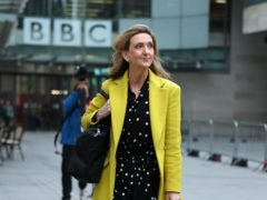 Victoria Derbyshire nominated for RTS Award after BBC axe (Yui Mok/PA)
