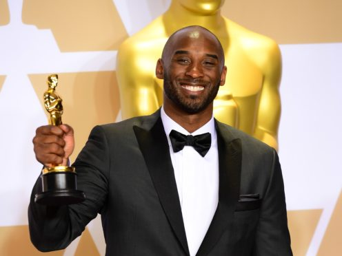 Celebrities have paid tribute to former basketball player Kobe Bryant, who was killed in a helicopter crash (Ian West/PA)
