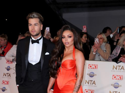 Hughes was attending the ceremony with girlfriend Jesy Nelson (Isabel Infantes/PA)