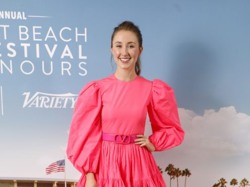 Erin Doherty attending the Newport Beach Film Festival UK Honours event (David Parry/PA)