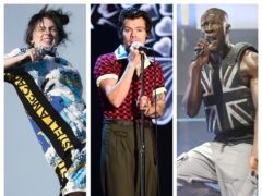 Billie Eilish, Harry Styles and Stormzy will perform at this year's Brit Awards ceremony (PA)