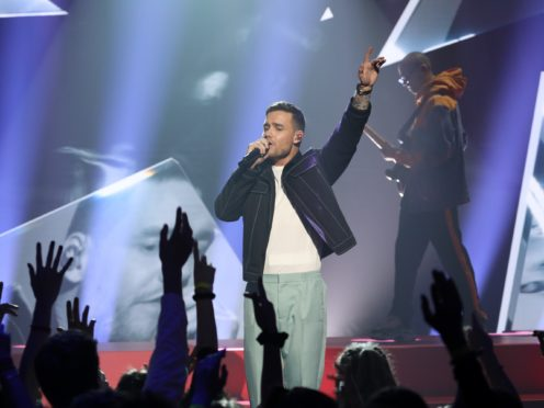 Liam Payne during The Brits Are Coming (John Marshall/JMEnternational/PA)