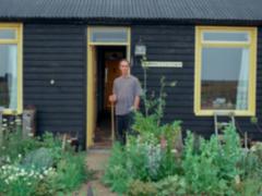 Derek Jarman at Prospect Cottage (Howard Sooley/Art Fund/PA)