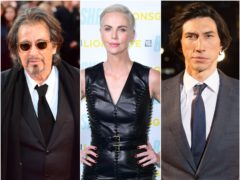 Al Pacino, Charlize Theron and Adam Driver are among the nominees ahead of the Golden Globes (Ian West/David Parry/Ian West/PA)