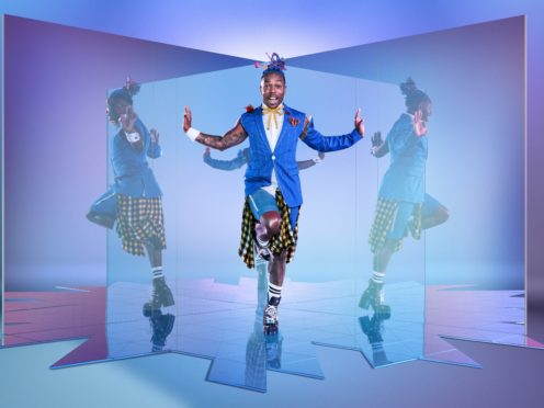 Todrick Hall said he loves the 'open-minded' nature of the UK (BBC/Thames/David Ellis/PA)