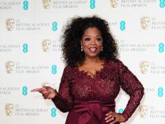 Oprah Winfrey took a tumble (Ian West/PA)