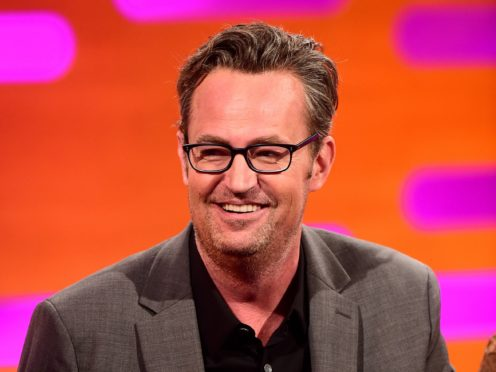 Matthew Perry becomes last Friends star to join Instagram (Ian West/PA)
