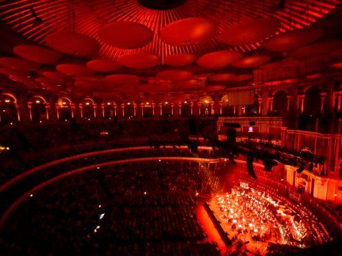 Patrick Hawes conducts the Royal Philharmonic Orchestra (Matt Crossick/PA)