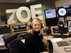 Zoe Ball on her first morning hosting the BBC 2 Breakfast Show (BBC)