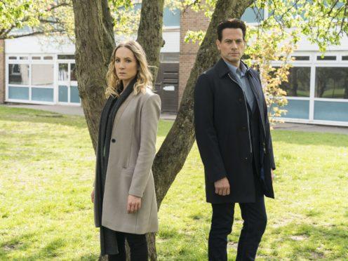 Joanne Froggatt and Ioan Gruffudd in the new season of Liar (ITV/PA)