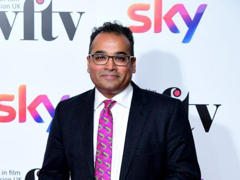 Krishnan Guru-Murthy said the challenge would be 'torture' for him (Ian West/PA)