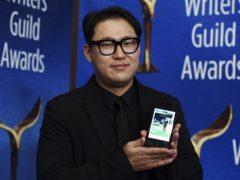 South Korean dark comedy Parasite, co-written by Han Jin-Won, has won another major award ahead of the Oscars (AP Photo/Chris Pizzello)