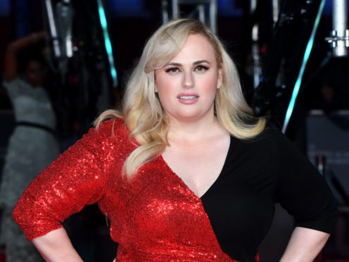 Rebel Wilson takes aim at Cats and all-male directing nominees at the Baftas (Matt Crossick/PA)