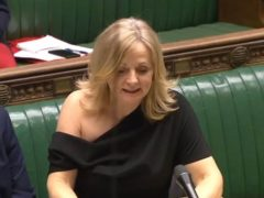 Tracy Brabin: There's more going on in Parliament than my shoulder (House of Commons/PA)