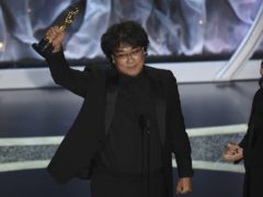 Bong Joon-ho won best director (Chris Pizzello/AP)