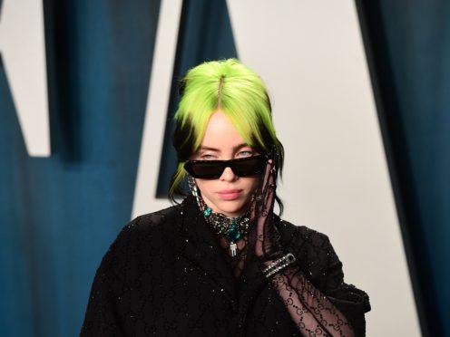 Billie Eilish attending the Vanity Fair Oscar Party (Ian West/PA)